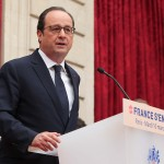 "Allocution de François Hollande lors de l'évènement ""La France s'engage"""