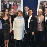 Alain Pompidou, Emmanuelle Boidron, Béatrice Rosen, Bernadette Chirac, Richard Hutin, Brahim Asloum, Nicole Pompidou, Didier Audebert