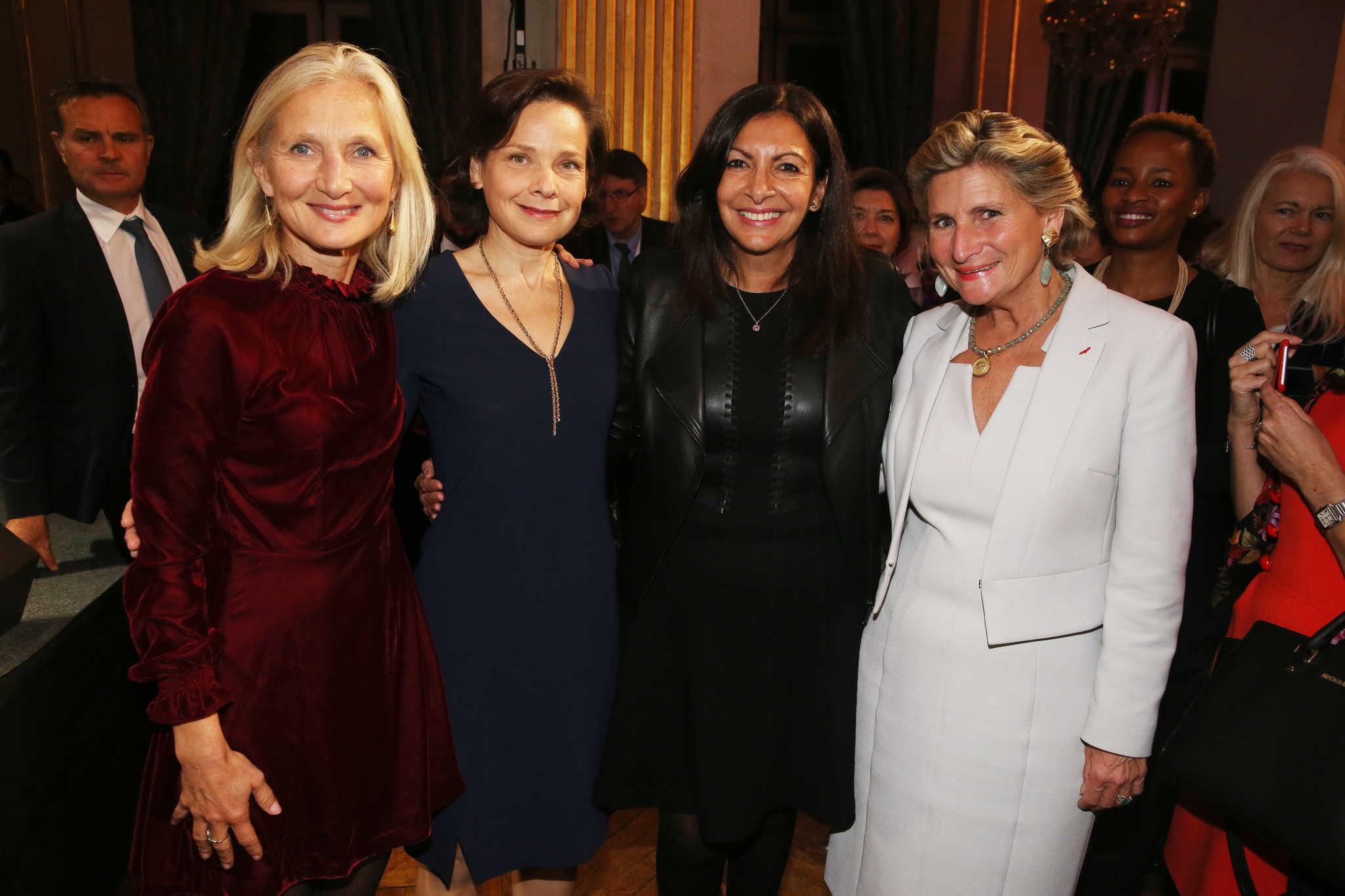 Clara Gaymard, Anne-Gabrielle Heilbronner, Anne Hidalgo, Chiara Corazza