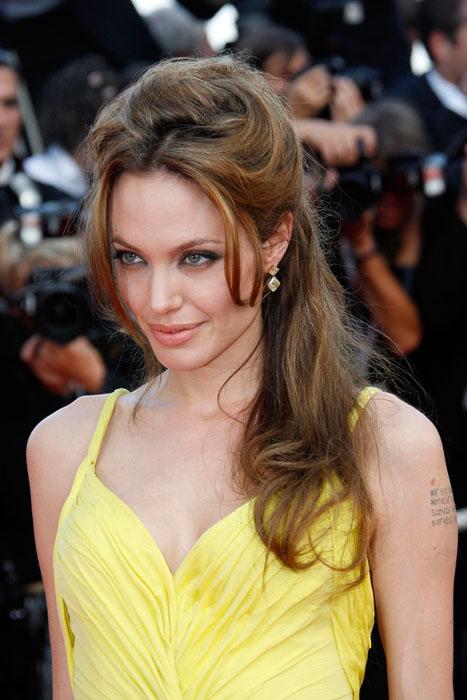 Angelina Jolie portant des bijoux Chopard
