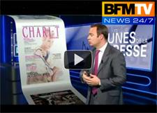 CHARI-T Magazine sur BFM TV