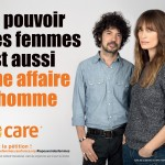 Caroline de Maigret et Yarol Poupaud, engagés pour CARE