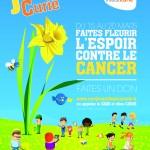 CURIE - Affiche Une Jonquille pour Curie