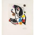 Joan Miro (1893-1983) Les Montagnerds II, 1990
